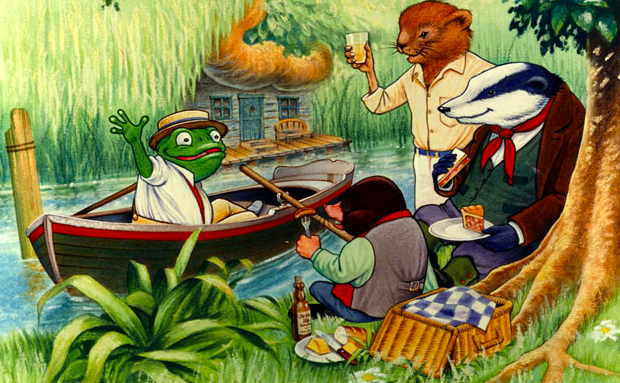 The Wind in the Willows, originally published 1908.