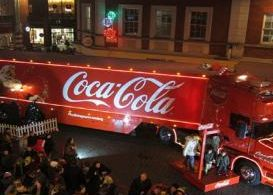 Coca-Cola truck, holiday, attraction, Leah Benthin, Kettle Mag