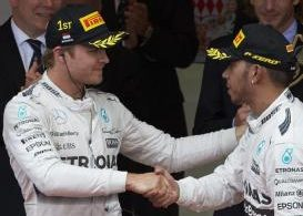 Nico and Lewis shake hands after Monaco drama, Kettle Mag