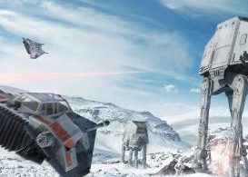 The battlefront on Hoth