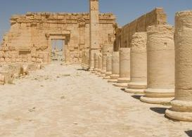 Kettlemag Kirstie Keate IS driven out of Palmyra