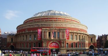The Royal Albert Hall advertising the Proms