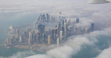 Doha from above