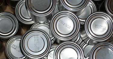 tinned food, kettle mag