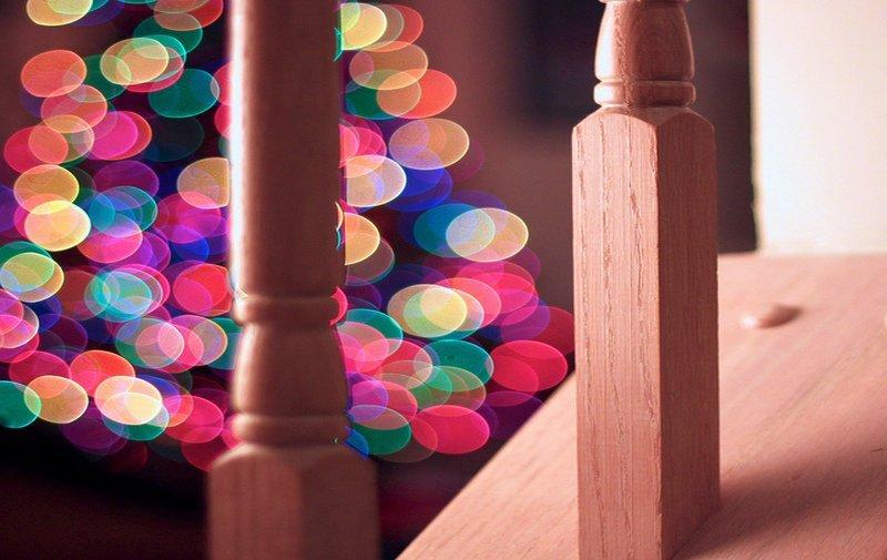 Christmas, lights, anticipation